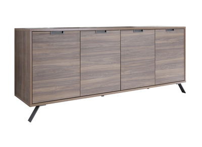 Buffet design 4 portes noyer ORIGIN