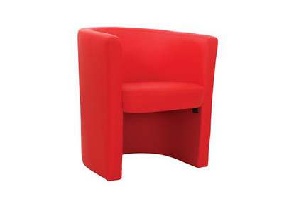 Fauteuil cabriolet rouge Pretty