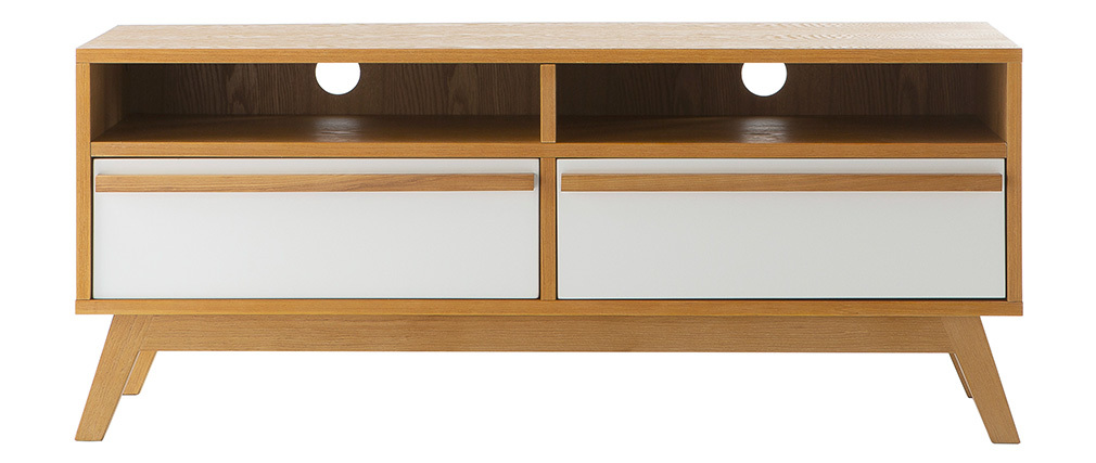 Meuble TV design scandinave HELIA