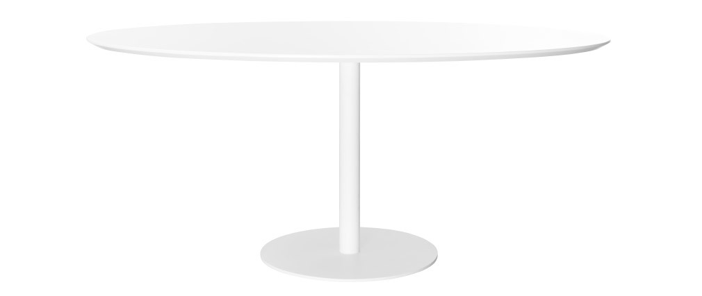 Table à manger design blanche L169 HALIA