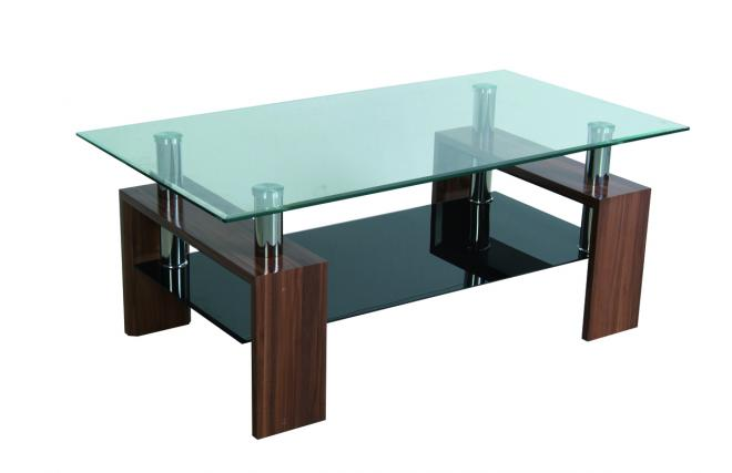 table basse de salon moderne telma rectangulaire coloris weng miliboo. Black Bedroom Furniture Sets. Home Design Ideas