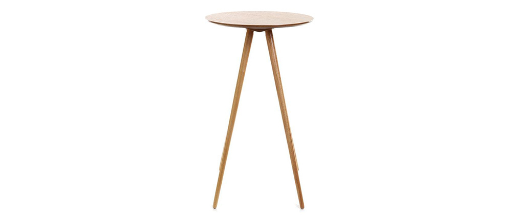 Table de bar scandinave bois NORDECO