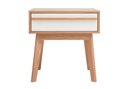Table de chevet design scandinave HELIA